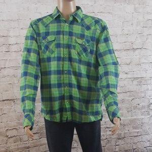 Diesel mens snap up shirt size xxl